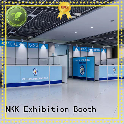 NKK professional custom booth wholesale for trade fair