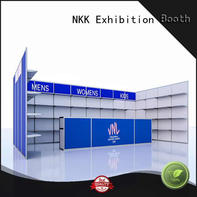 NKK high quality custom booth for expo