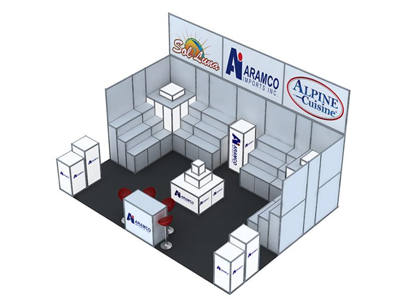 Hotsale exhibiton booth