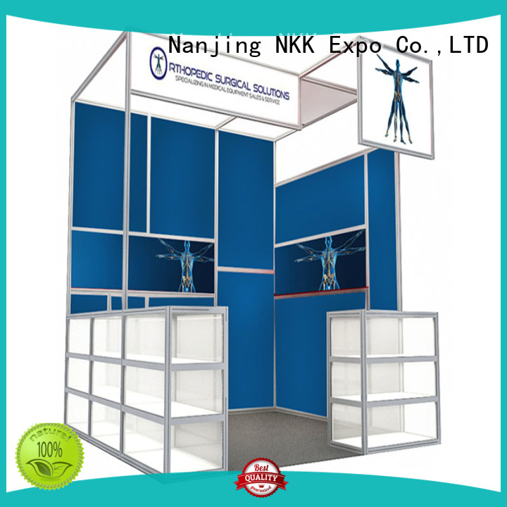 NKK high quality custom booth manufacturer for trade display