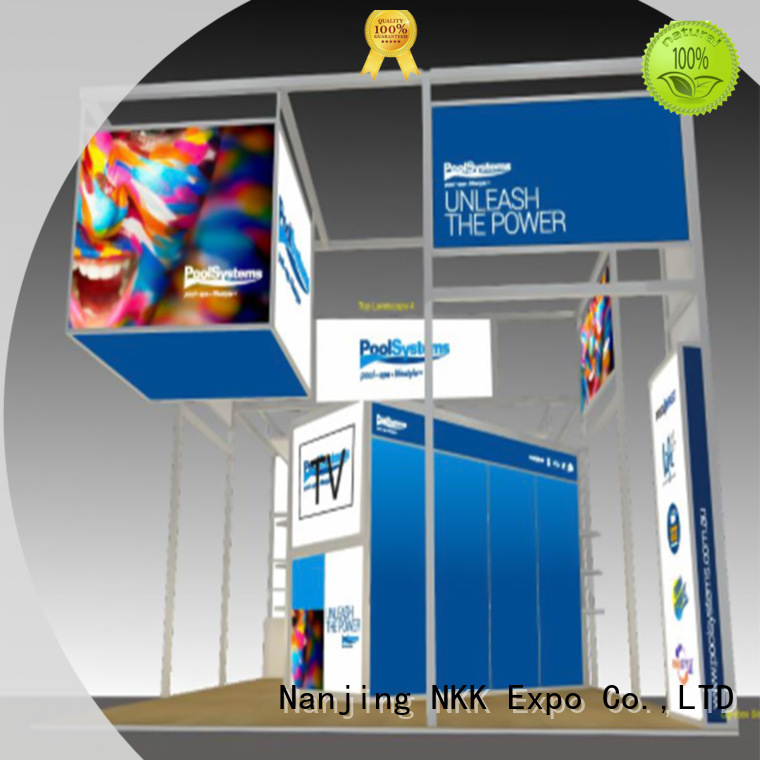 custom trade show booth displays for business NKK