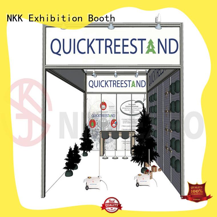 NKK long lasting custom booth for expo