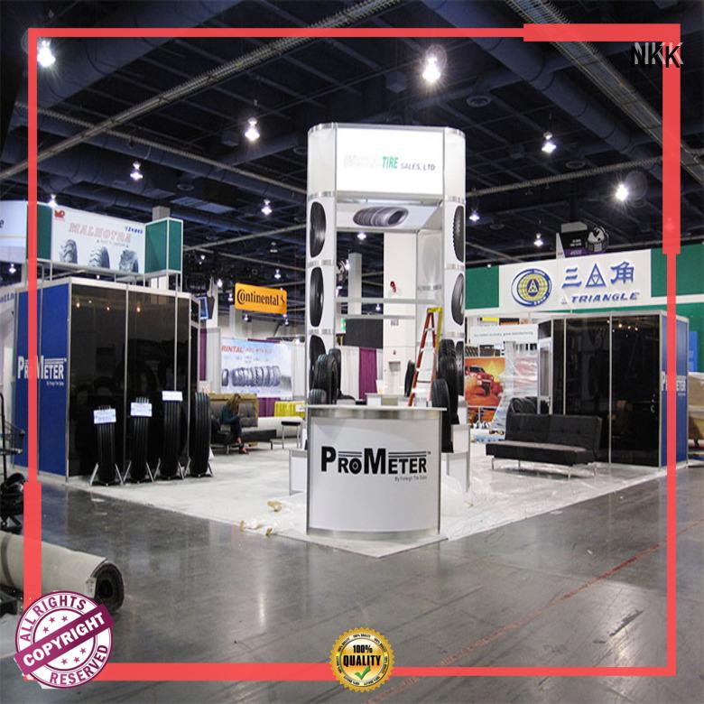 NKK popular custom booth supplier for expo