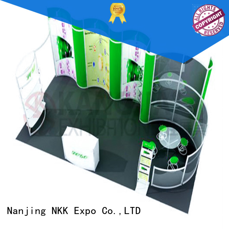 NKK professional custom stand with good price for expo