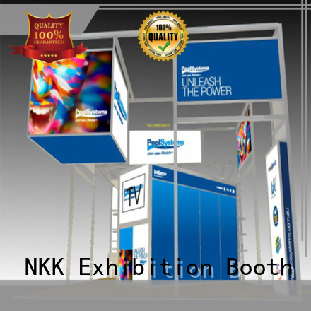 NKK custom stand with good price for expo