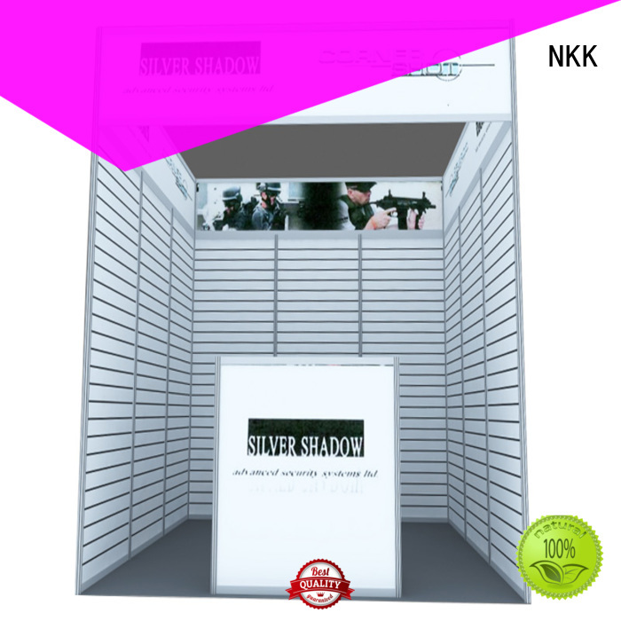 NKK popular custom booth customization for business