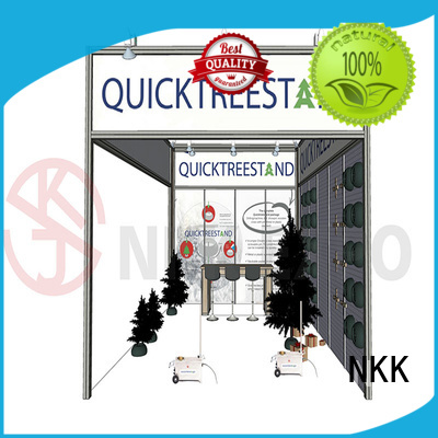 NKK professional custom booth supplier for trade display
