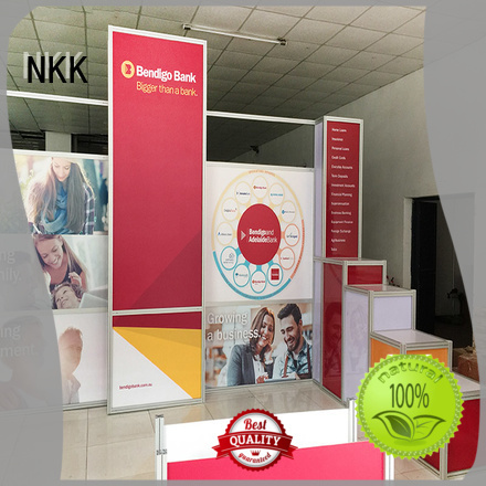 NKK custom booth wholesale for trade display