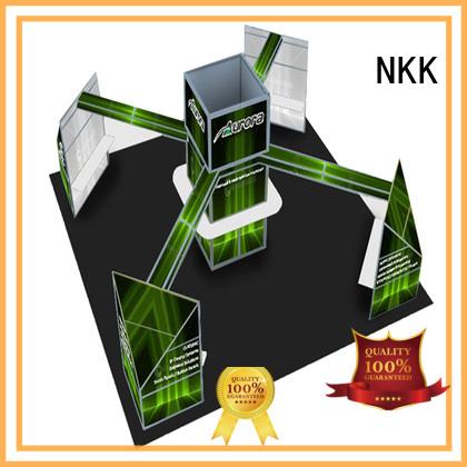 NKK long lasting custom trade show booth supplier for expo