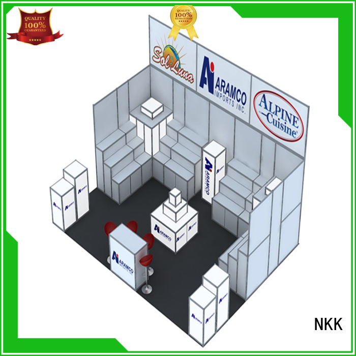 NKK custom booth wholesale for business