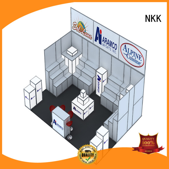 NKK high quality curved trade show display manufacturer for business
