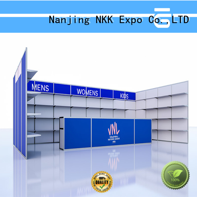 NKK custom stand with good price for trade fair