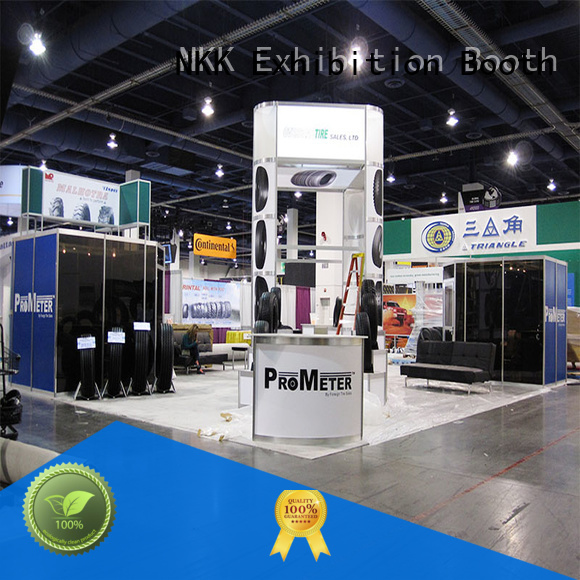 NKK custom booth directly sale for business