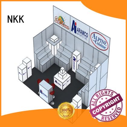 NKK professional custom booth manufacturer for expo