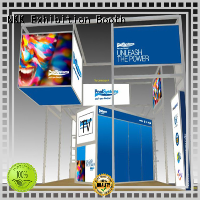 NKK custom stand manufacturer for trade fair