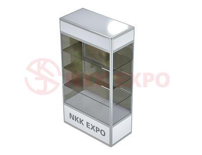 aluminium display cabinet