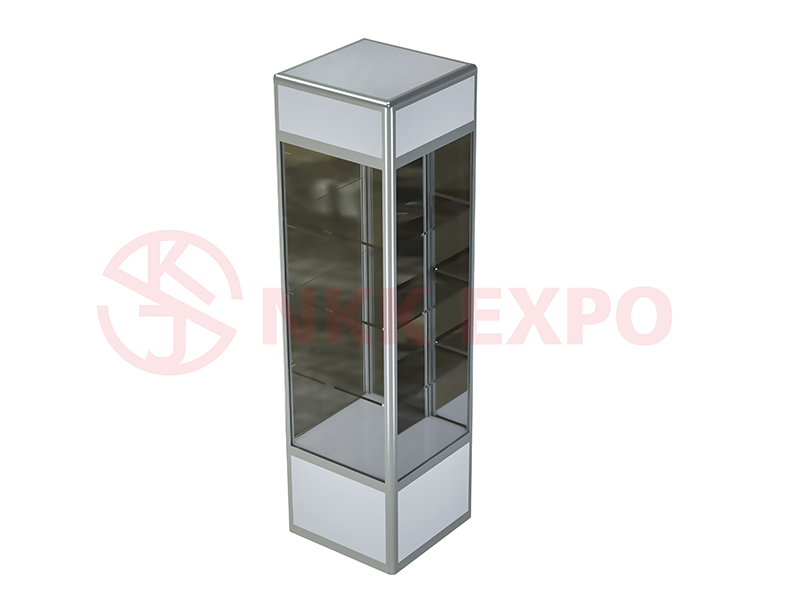 Aluminium showcase