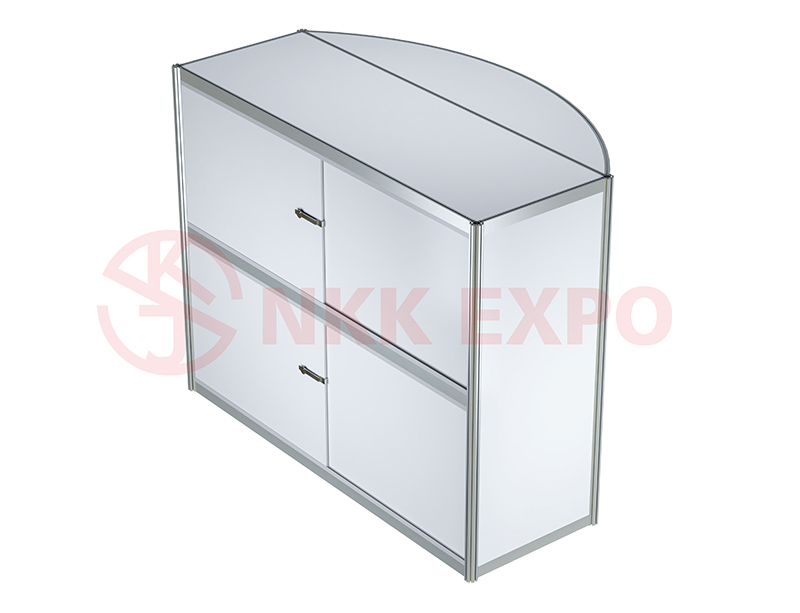 portable display counter with good price for trade display NKK