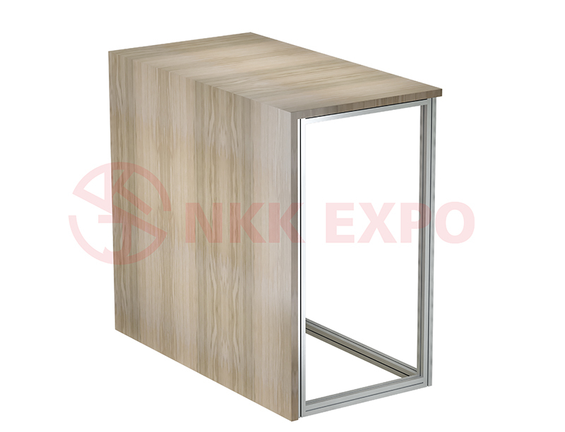 easily assemble exhibition table