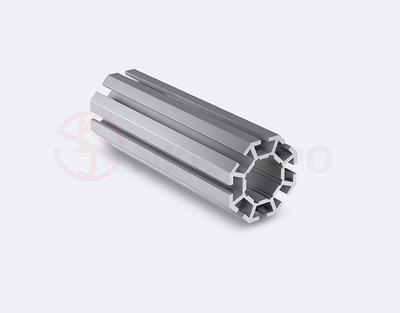 big hole upright extrusion trade fair aluminium profiles
