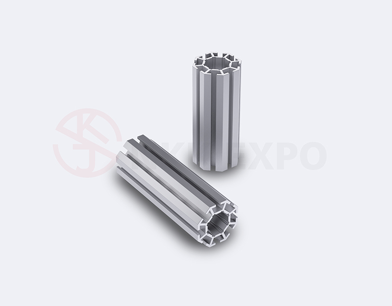 aluminum extrusion profiles for booth stand NKK