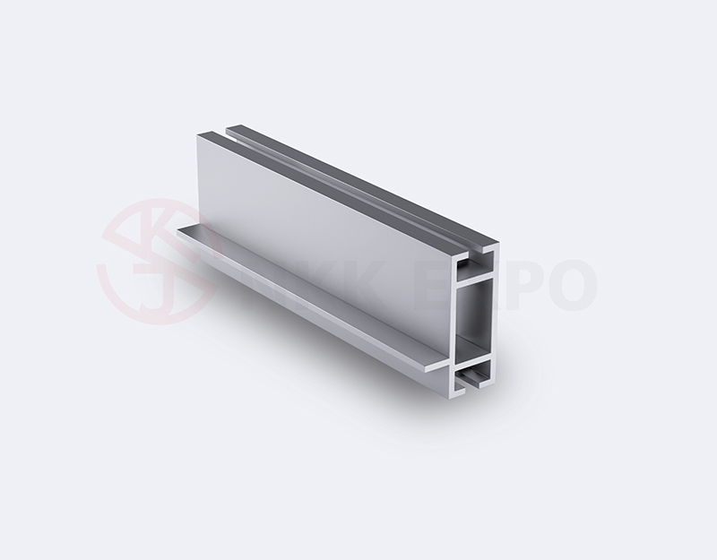 40 beam one side with edge trade fair aluminium extruded profiles