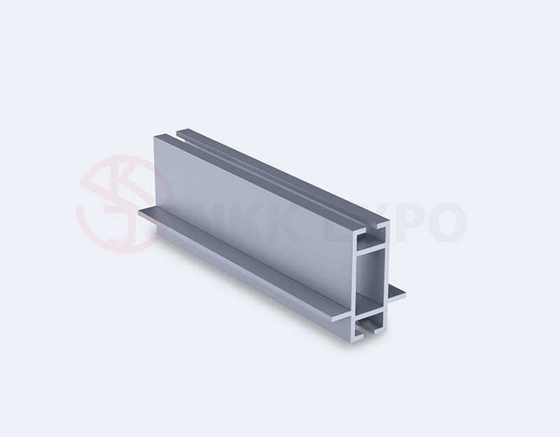 40 beam double edge aluminum alloy profile for exhibition
