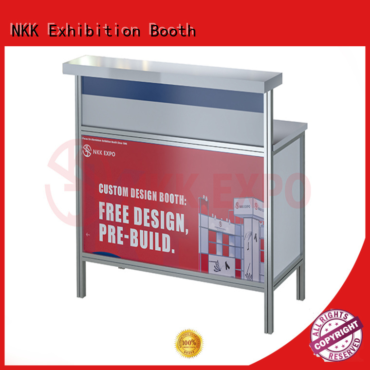 durable trade show furniture manufacturer for trade display