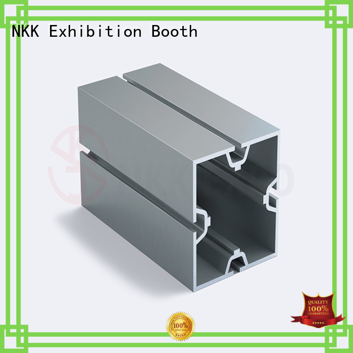 NKK aluminum extrusion profiles directly sale for booth stand