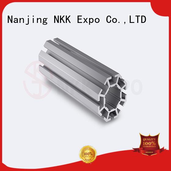 NKK aluminium profiles customization for trade show booth