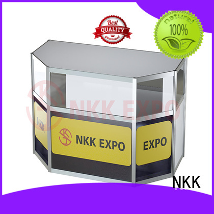 NKK aluminium exhibition furniture with good price for business