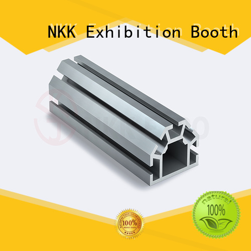 NKK aluminium profiles supplier for exhibition