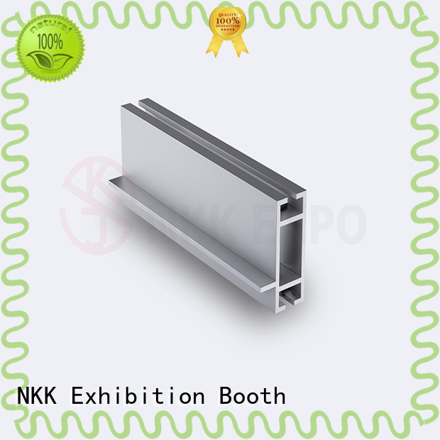 NKK aluminium profiles with good price for trade show stands