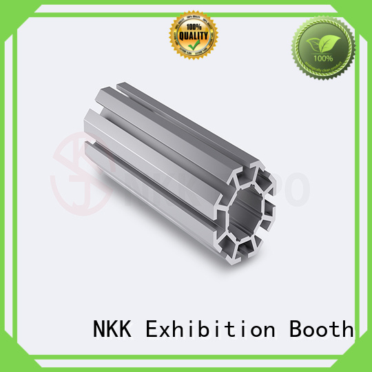 NKK upright aluminium profiles customization for booth stand