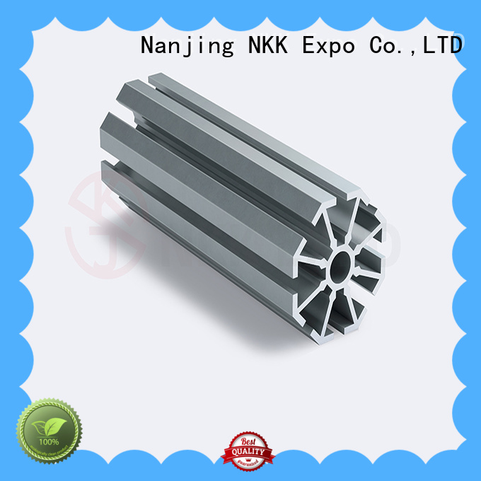 NKK aluminium profiles directly sale for exhibition