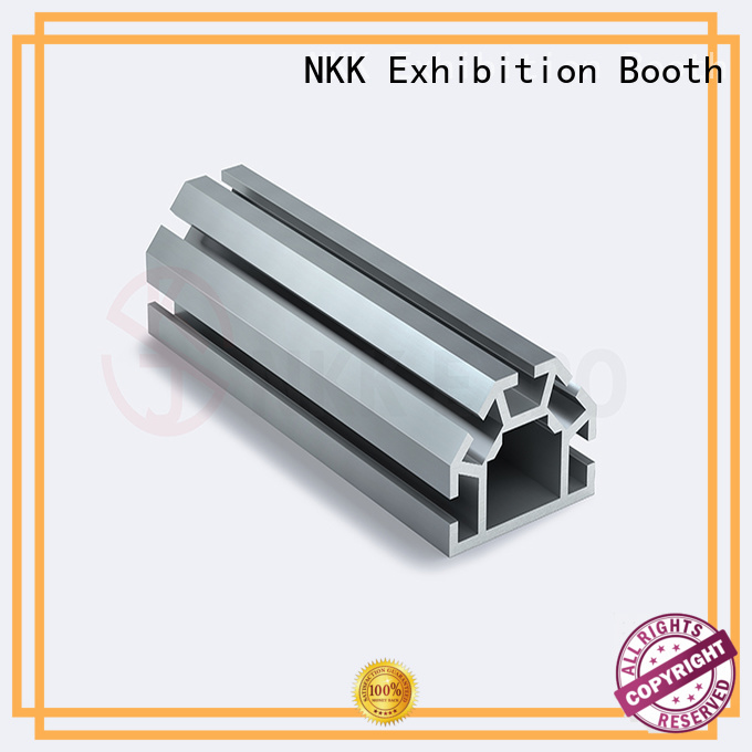 NKK quality aluminium profiles supplier for trade show booth
