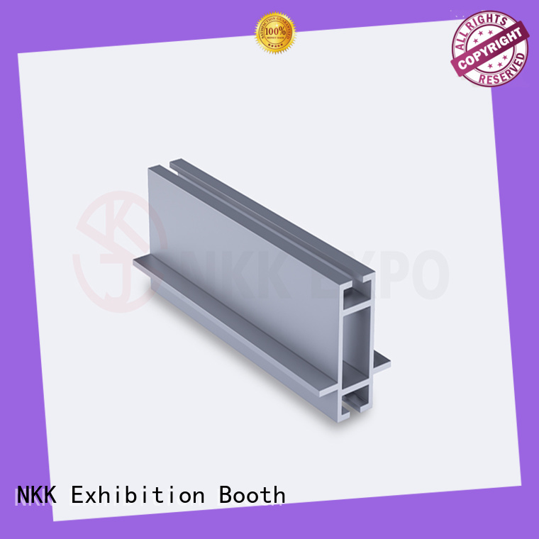 NKK aluminum extrusion profiles manufacturer for trade show booth