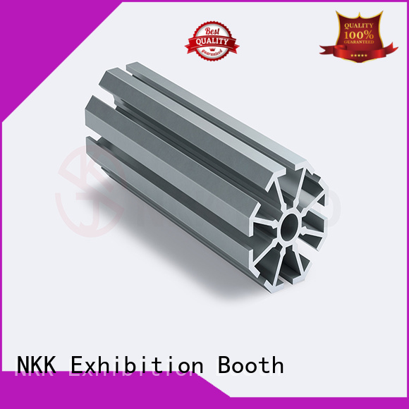 NKK aluminum extrusion profiles with good price for trade show booth