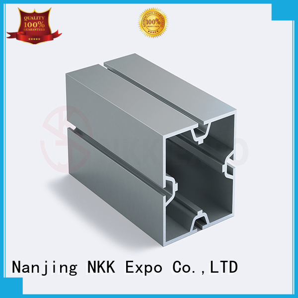 NKK aluminum extrusion profiles customization for booth stand