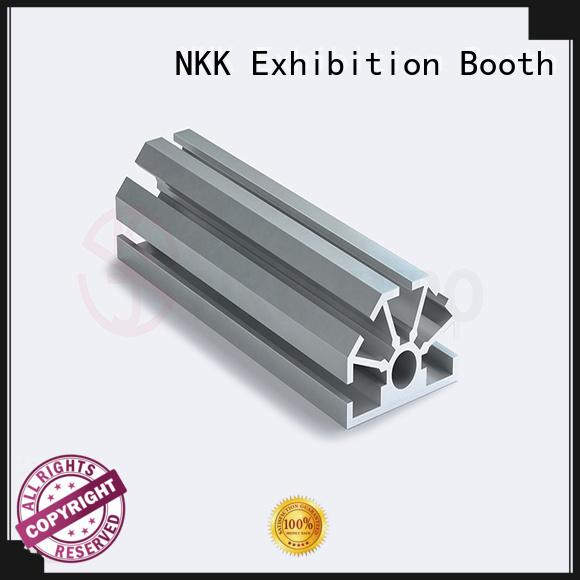 NKK big hole aluminium profiles wholesale for trade show stands