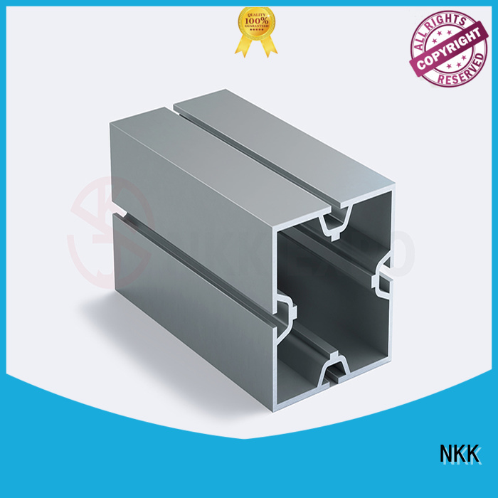 NKK aluminum extrusion profiles directly sale for exhibition