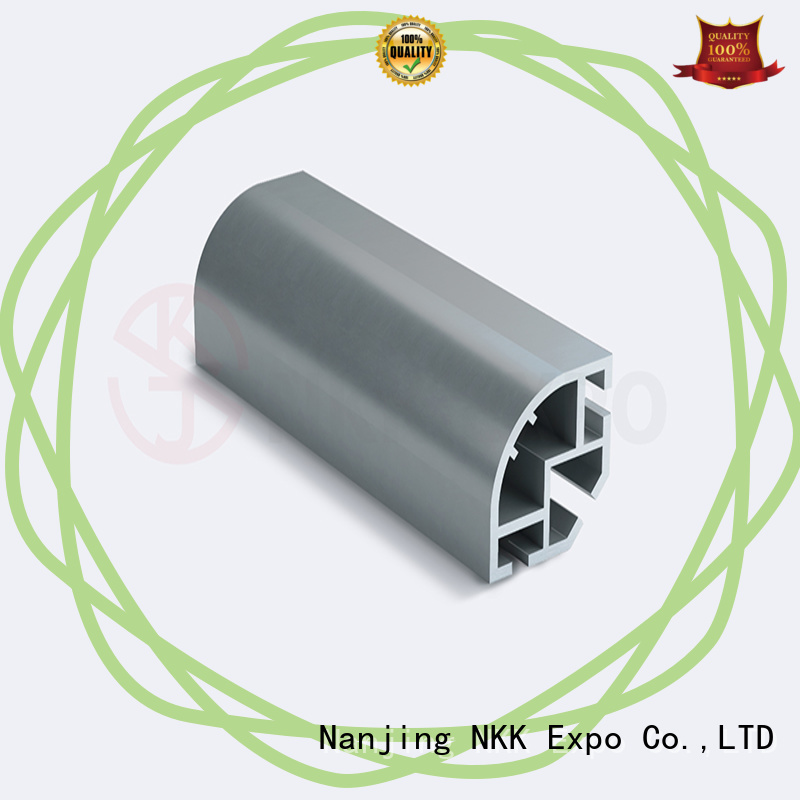 NKK aluminum extrusion profiles supplier for booth stand