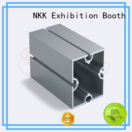 NKK aluminum extrusion profiles directly sale for trade show stands