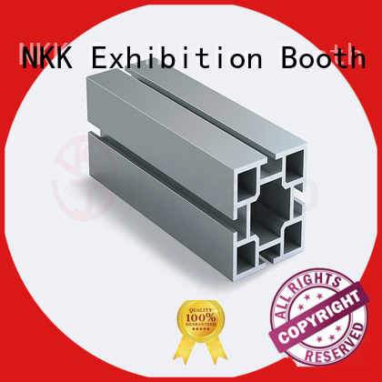 NKK cost-effective aluminum extrusion profiles manufacturer for booth stand
