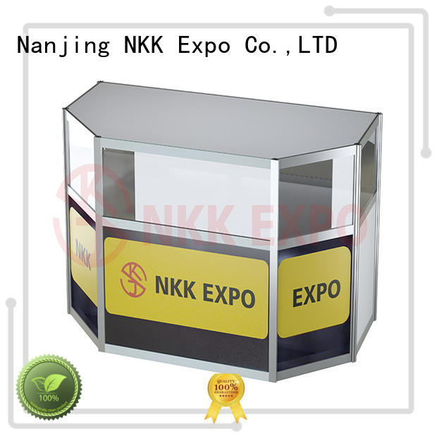 NKK durable exhibition furniture with good price for business