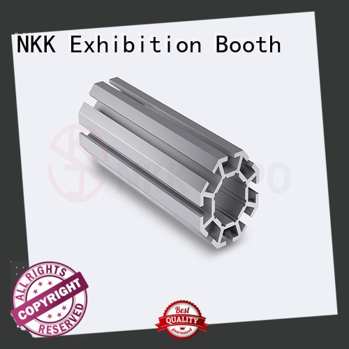NKK reliable aluminum extrusion profiles wholesale for booth stand
