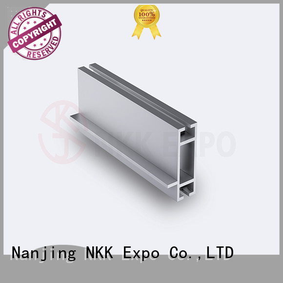 NKK practical aluminum extrusion profiles with good price for booth stand