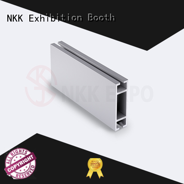 NKK aluminium profiles wholesale for exhibition