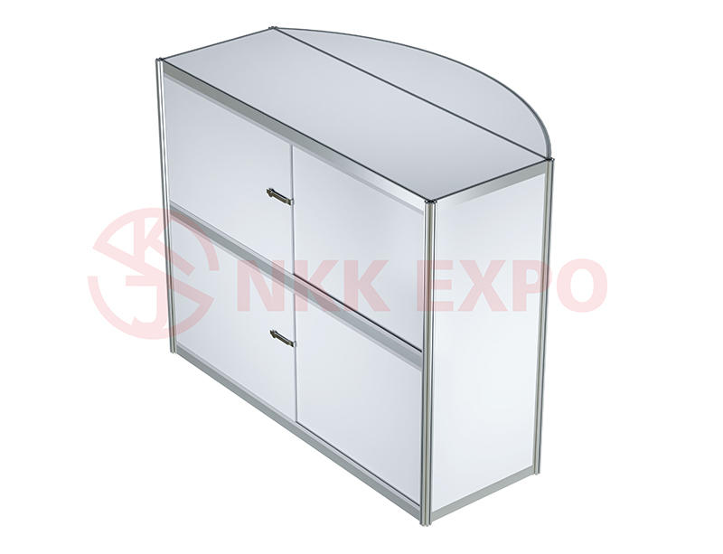 portable display counter with good price for trade display NKK-1