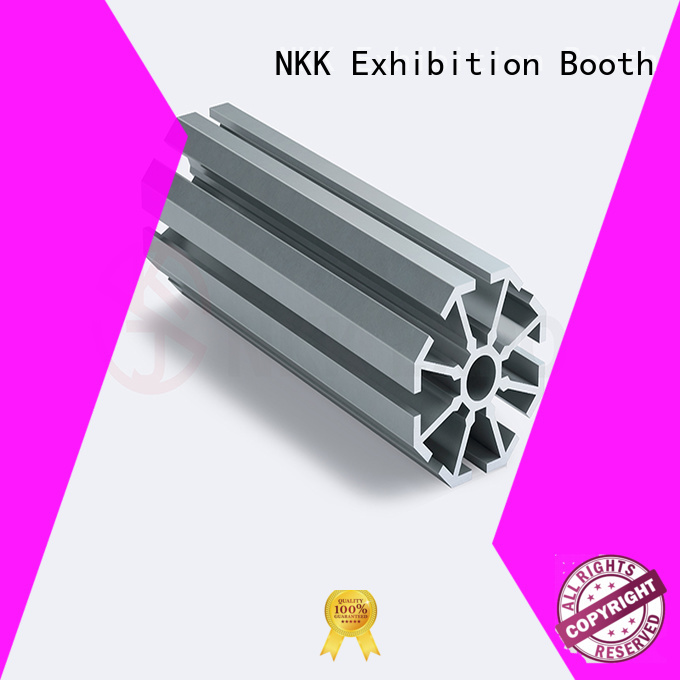aluminum extrusion profiles customization for trade show booth